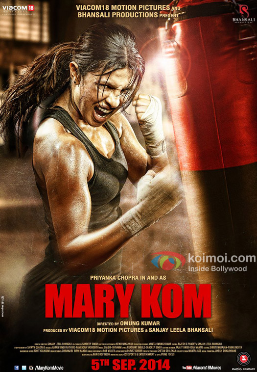The Motion Poster Of 'Mary Kom'