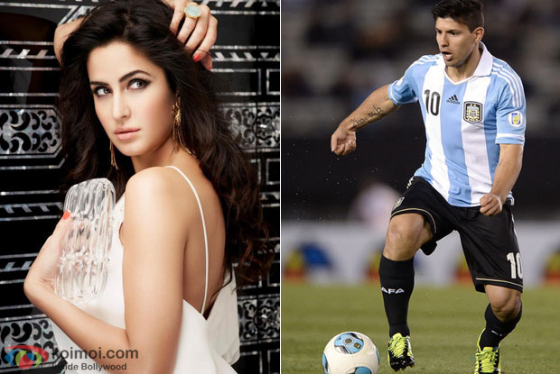 Katrina Kaif and Sergio Aguero