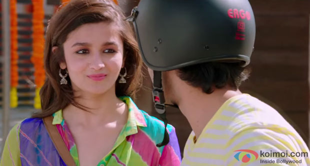 Alia Bhatt and Varun Dhawan in a still from movie 'Humpty Sharma Ki Dulhania'