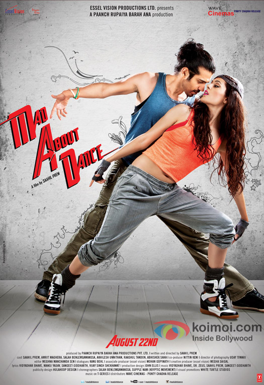 Mad About Dance First Look Movie Poster