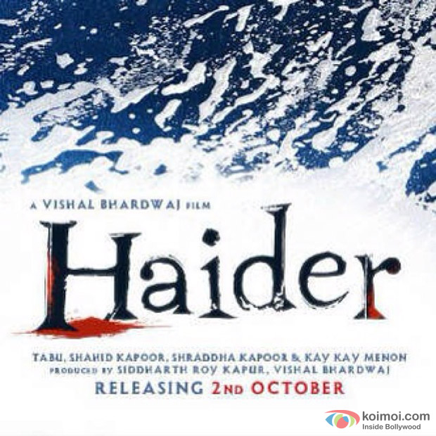 The First Look Of 'Haider'