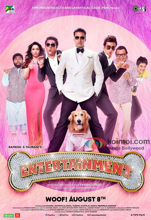 The New Poster of Entertainment