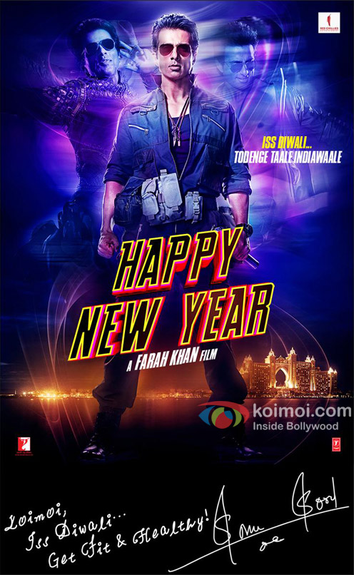 Sonu Sood in 'Happy New Year' Poster