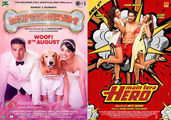 Entertainment And Main Tera Hero Movie Poster