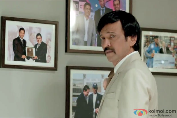 Kay Kay Menon in a still from movie 'Raja Natwarlal'