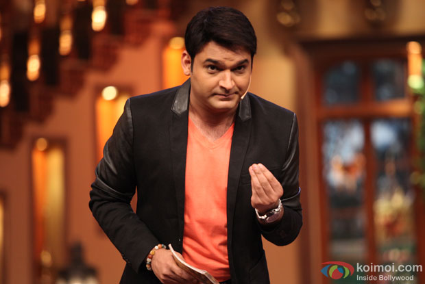 Kapil Sharma in a still from 'Comedy Nights With Kapil'