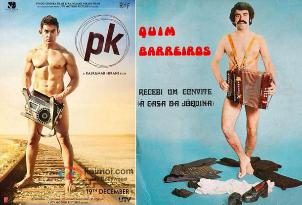 PK Poster Copied From Quim Barreiros' Poster?
