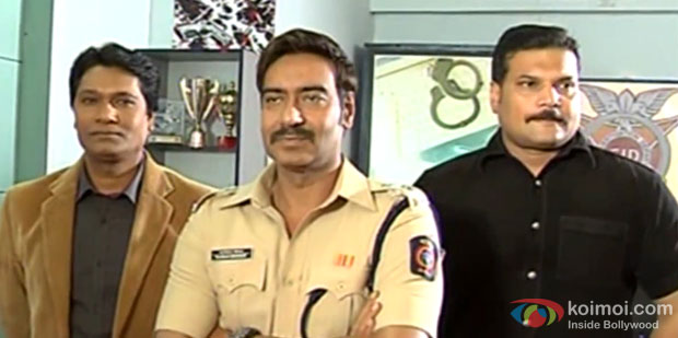 Ajay Devgn Meets CID Team