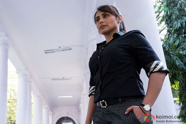 Rani Mukerji in a still from movie 'Mardaani'