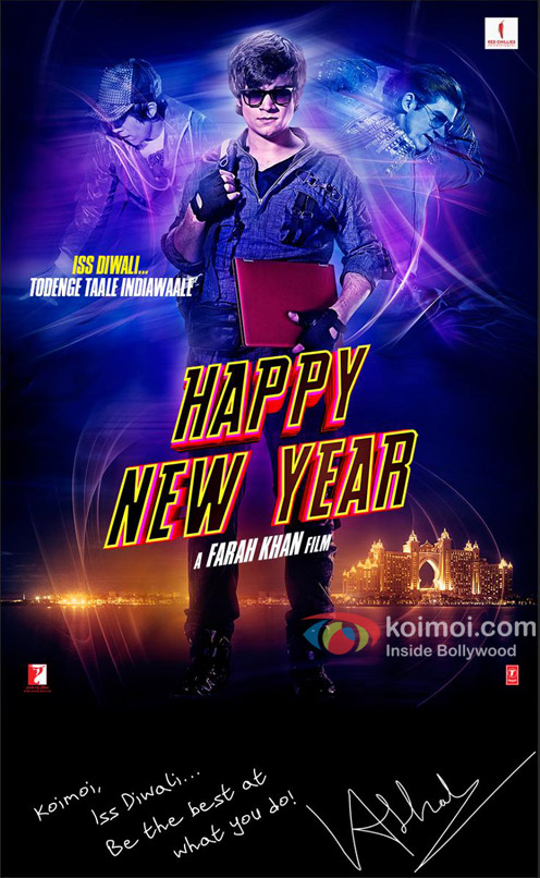 Vivaan Shah in 'Happy New Year' Poster