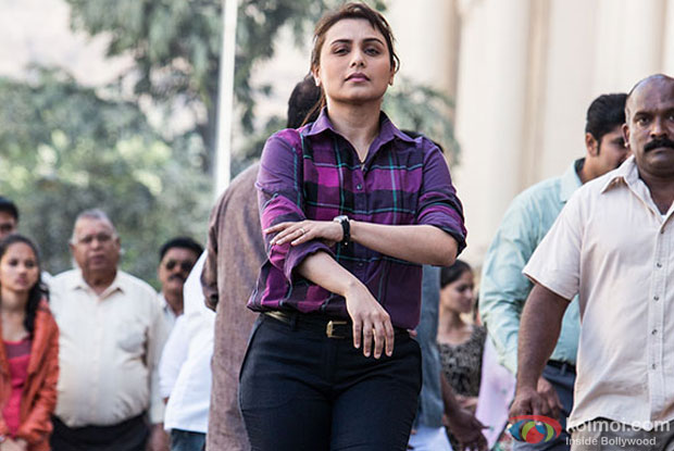 Rani Mukerji in a still form movie 'Mardaani'