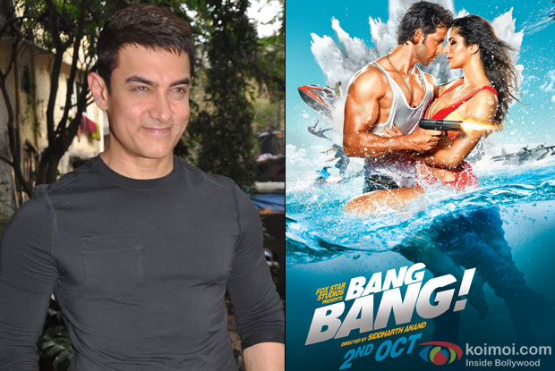 Aamir Khan and Bang Bang Movie Poster