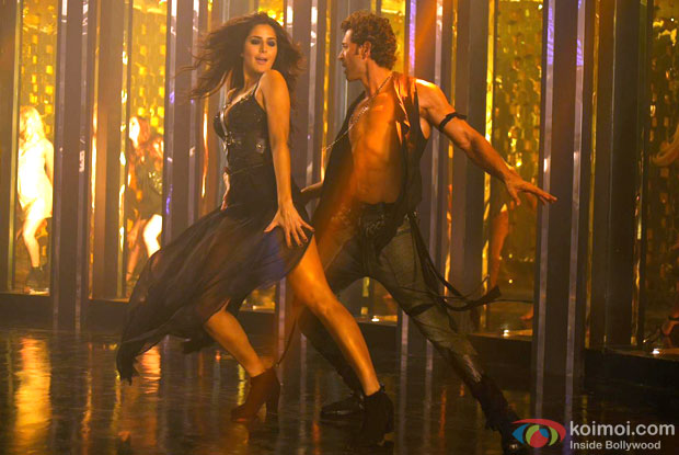 Katrina Kaif and Hrithik Roshan in a still from movie 'Bang Bang'
