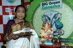 Asha Bhosle At Ganpati Puja Is Big FM's Office