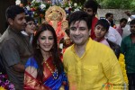 Sonali Bendre Snapped At A Ganpati Puja In Mumbai