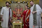 Neil Nitin Mukesh Perform Prayers During Ganpati Festival