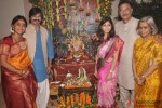Vivek Oberoi And Family Bring Home Lord Ganesha