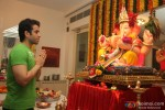Tusshar Kapoor Celebrates An Elaborate Ganpati Festival At Home