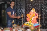 Sonu Sood Snapped At Ganpati Puja At His Place