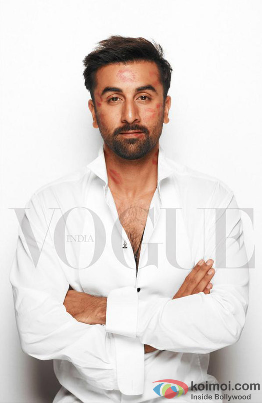 Ranbir Kapoor on the Vogue Cover