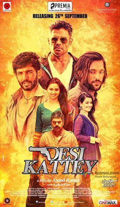 Desi Kattey Movie Poster