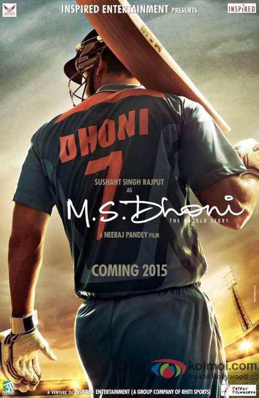'M.S.Dhoni' movie poster