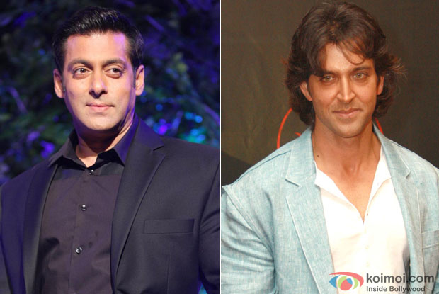 Salman Khan and Hrithik Roshan