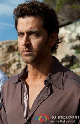 Hrithik Roshan in a still from movie 'Zindagi Na Milegi Dobara'