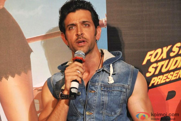 Hrithik Roshan at an event