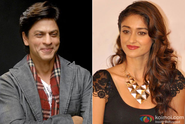 Shah Rukh Khan and Ileana D'Cruz