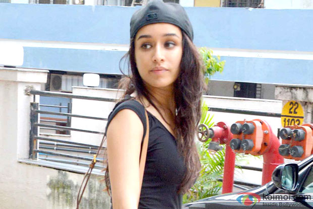 Shraddha Kapoor on the sets of 'ABCD 2'