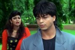 Shilpa Shetty and Shah Rukh Khan in a still from movie 'Baazigar'