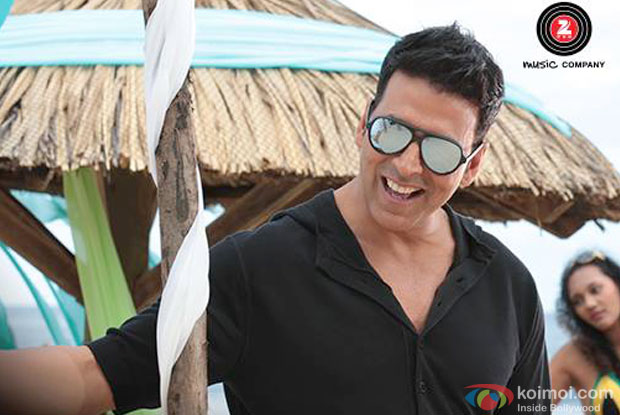Akshay Kumar in a still from movie 'The Shaukeens'