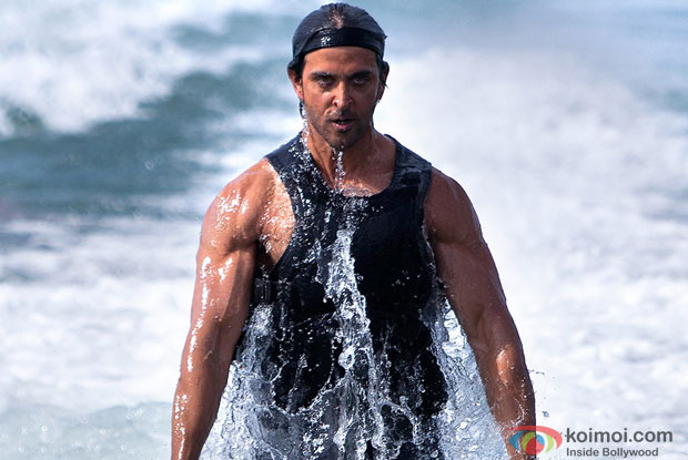 Hrithik Roshan in a still from movie 'Bang Bang'