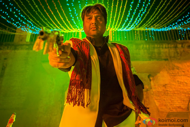 Govinda in a still from movie 'Kill Dil'