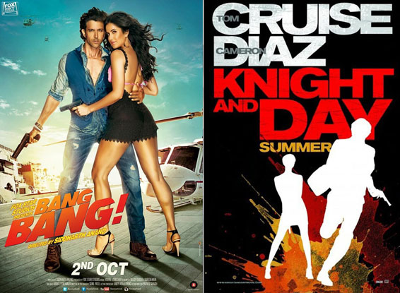 Bang Bang And Knight And Day Poster