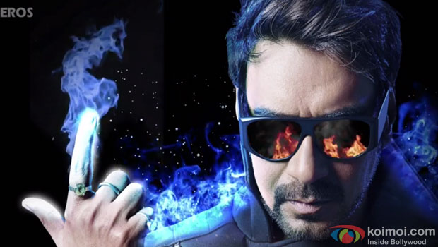 Ajay Devgan in a 'Action Jackson' motion poster