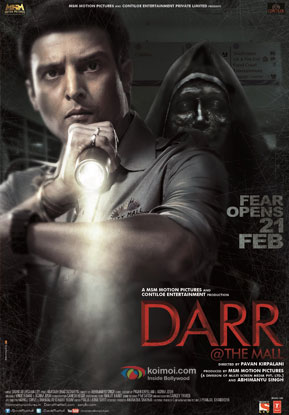 Jimmy Shergill in a 'Darr @ The Mall' movie poster