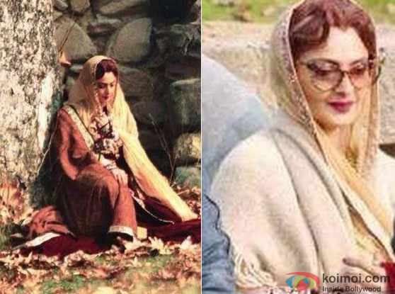 Rekha's Begum Look In Movie 'Fitoor'