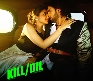 Parineeti Chopra and Ranveer Singh in a 'Sweeta' song still from movie 'Kill Dil'