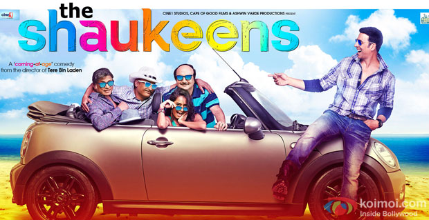 The Shaukeens Movie Poster
