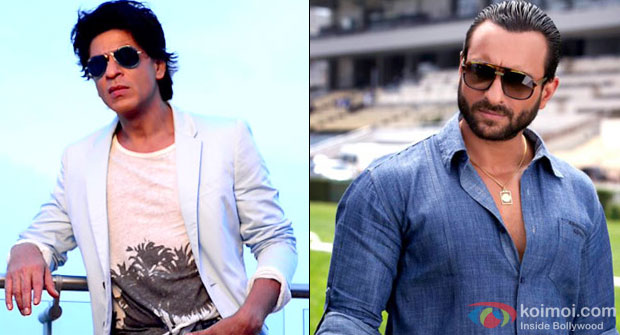 Shah Rukh Khan and Saif Ali Khan