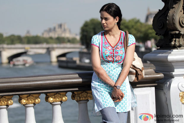 Kangana Ranaut in a still from movie 'Queen'
