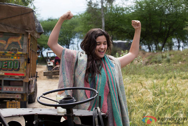 Alia Bhatt in a still from movie 'Highway'
