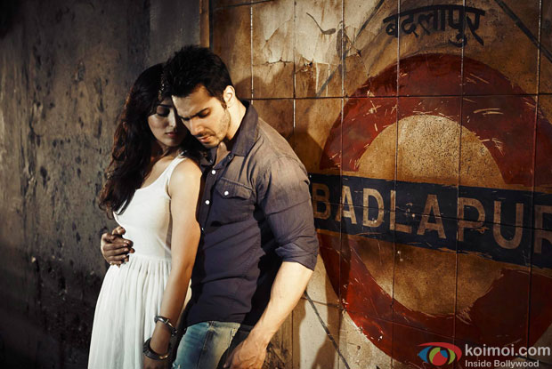 Yami Gautam and Varun Dhawan in a still from movie 'Badlapur'