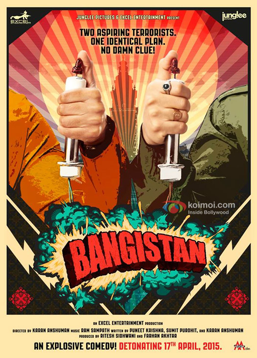 First Look Poster of Bangistan