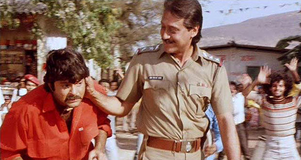 Jackie Shroff and Anil Kapoor in a still from movie 'Ram - Lakhan'