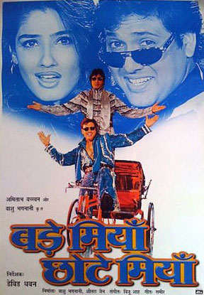 Bade Miyan Chote Miyan (1998) Movie Poster