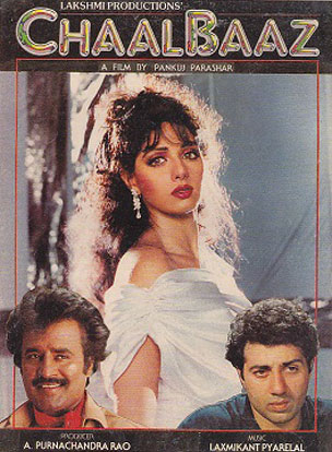 ChaalBaaz (1989) Movie Poster