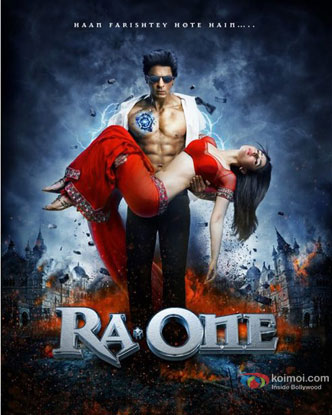Ra.One (2011) Movie Poster